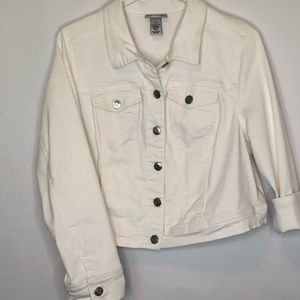 Catherines White Jeans Jacket (14/16)
